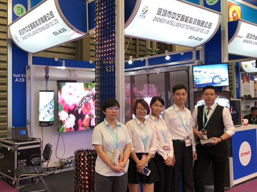 ZhongYi Intelligence led display made debut in LED CHINA 201
